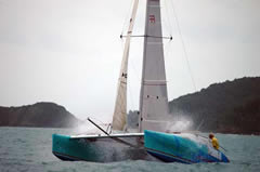 sport day sailing in Phuket with fast boat