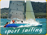 sport sailing trip on fast boat in Phuket